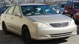 2004 Toyota Camry LE with certified ,no accident claim