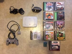 PlayStation PSone Mini With 11 Games Bundle