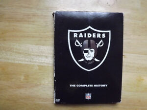 """FS: (Oakland) """"Raiders: The Complete History"""" 2-DVD Set"""