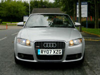 2007 (07)AUDI A4 CABRIOLET 3.0 TDI AUTO QUATTRO S LINE++WITH MEGA SPEC+SAT/NAV++