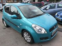 2008/58 SUZUKI SPLASH 1.2 GLS + 5 DR LOW RUNNING COSTS,RELIABLE,LOOKS AND DRIVES REALLY WELL