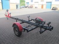 18 ft boat trailer all braked in good condition £350