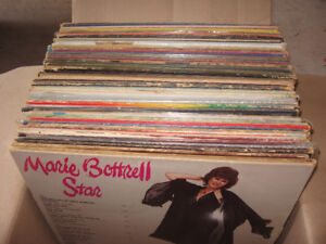 OVER 50 USED LPs, 1960 - 70s R&R, COUNTRY
