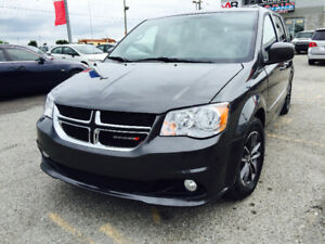 2016 Dodge Grand Caravan SXT Leather,Navi,DVD,Full Stow & Go
