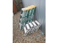 Ex site step Ladders