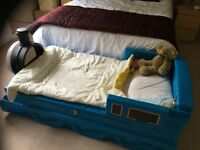 Thomas Tank Engine Children's Bed.Mattress Included.