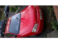 Hyundai Accent 2001 Red for Scrap