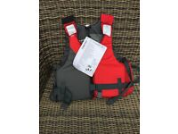 Life jacket And ski jacket new for canoe boat blowup