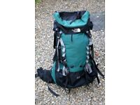 North Face 'Rogue 75 + 15' hiking backpack