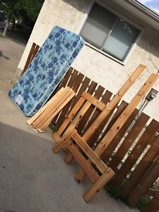 Single / twin bed and mattress