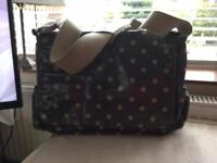 Grey Cath Kidston Spot Bag