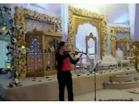 Violinist for weddings & events