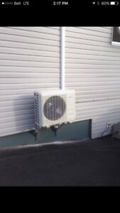 Installing/Supplying ductless heat pumps