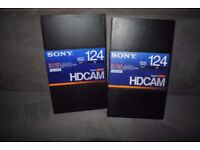 FOR SALE SONY HDCAM 124 TAPES