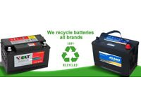 Vehicle batteries wanted £££