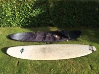 """Bic Mini Mal 7ft2"""" Surfboard with Bag and Leash"""