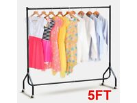 5ft self assembly clothes rails