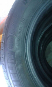 195/65R15  4Michelin tires forSale.Recently purchased.BarelyUsed