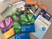 A/S level study books