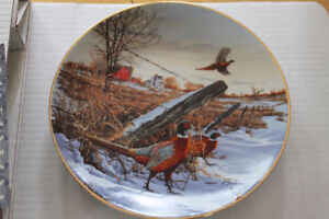 W S George Collector Plate