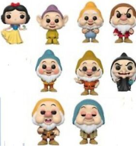 Funko Snow White Preorder Set of 9 pops!!