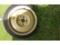 Spare wheel T115/70 D15 90M --- 70mm between studs 4 studs