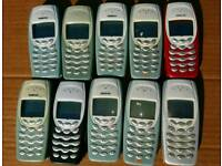 Lot 10x Nokia mobile phones unlocked fully working