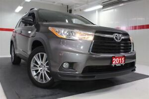 2015 Toyota Highlander XLE AWD Sunroof Nav Btooth BU Cam Heated
