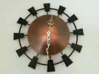 Vintage Kienzle Brass / copper wall clock