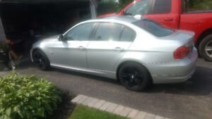17' bmw rims with tires