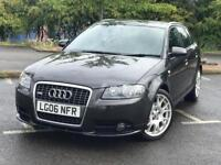 AUDI A3 2.0 TDI S-LINE LOW MILES FULLY LOADED RARE SPEC £3395 ONO