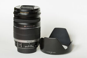 Objectif Canon EF-S 18-200mm f3.5-5.6 IS