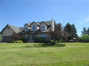 SYLVAN LAKE ACREAGE - SO MANY FEATURES TO SEE!! - HEATED SHOP!!