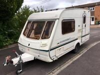 Abbey Aventura Caravan with Isabella awning