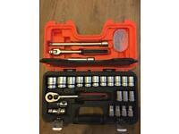 Bahco S240 1/2 inch drive socket set