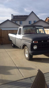 1965 ford truck running project