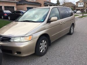 02 HONDA ODYSSEY FULLY LOADED|LEATHER | AUTO DOORS|HEATED SEATS