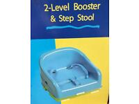 Bruin 2-Level Booster & Step Stool