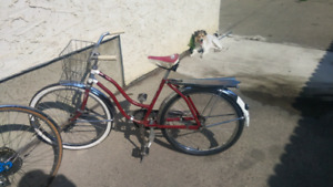 Repaired bike/garage sale