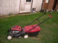 Mountfield SP 470 petrol mower difficultto start but runs o.k £30.00
