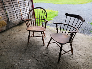 Antique Windsor chair set - Paine Furniture Company