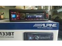 Alpine Bluetooth player