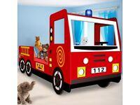 Fire Engine Bed+ Mattress