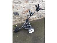 Motocaddy electric golf trolley