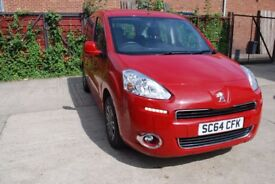 Peugeot Partner Tepee 1.6 HDi Tepee S MPV EGC 5dr (start/stop) AUTOMATIC,STOP START,1 OWNER,