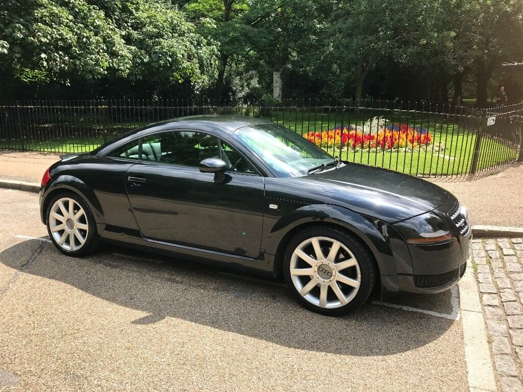black audi tt 1 8 t coupe quattro 3dr 2004 04 reg. Black Bedroom Furniture Sets. Home Design Ideas