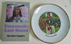 Battle of Thames Plate and Tecumseh's Last Stand