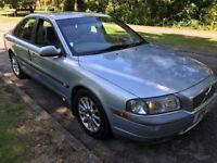 Volvo S80 2.4 2435cc Petrol Automatic 4 door Saloon 51 Plate 30/11/2001 Blue
