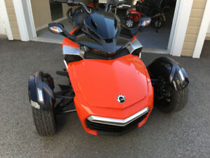 Can am Spyder F3S 2015 seulement 1480km