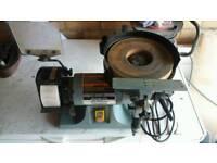 230V Bench Grinder Sharpener wet stone blade chisel lathe craft wood sealey